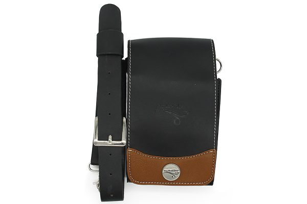 BLACK AND TAN WITH FLAP