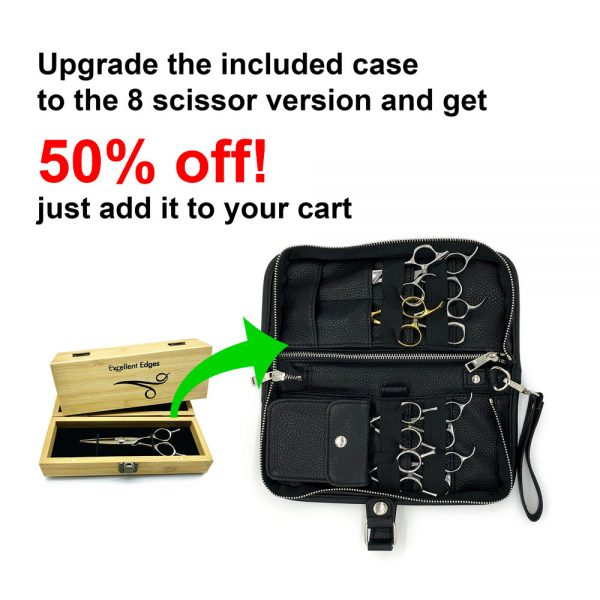 50% Off 8 Scissor Case Upgrade